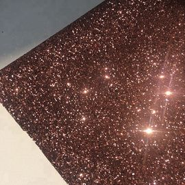 PU Gold Glitter Wallpaper For Walls 0.9±0.15mm Thickness Non Woven Backing