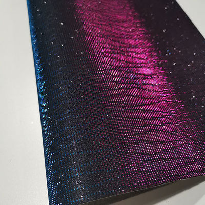 50m/Roll Embossed Abrasion Resistant Glitter Leather Fabric