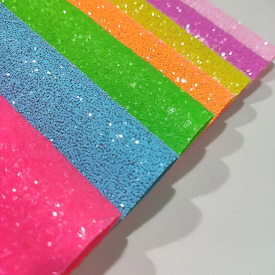 1.4mm PU Glitter Leather Fabric